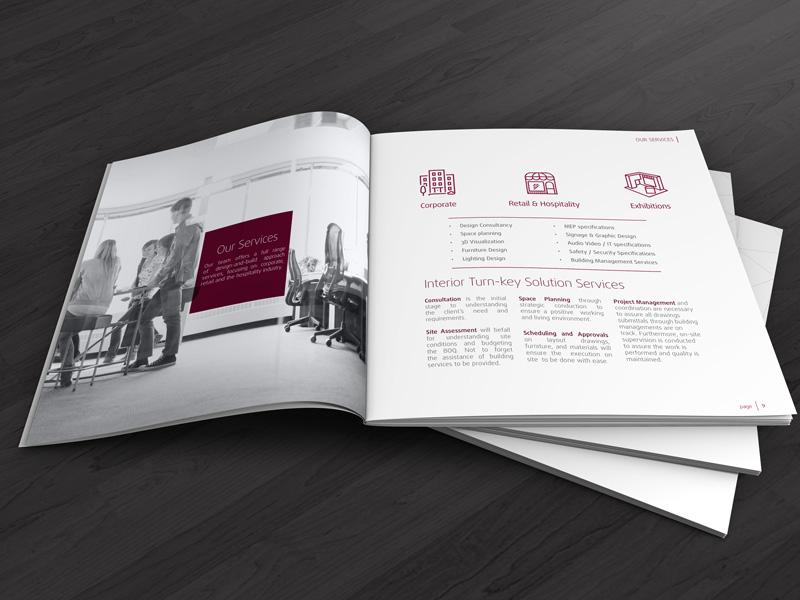 Motif Interiors Profile Design